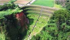 Muro de Contención Reforzado con Acabado Vegetal para la Remediación de la Pendiente Colapsada