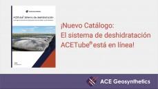 ¡Nuevo Catálogo: El sistema de deshidratación ACETube® está en línea!