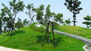 Amélioration de l'environnement, Port de Singda, Kaohsiung, Taiwan