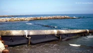 Protection des oléoducs et reconstitution des plages érodées, Mexique