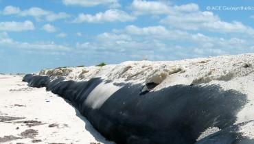 Protection des dunes côtières, Las Coloradas, Mexique