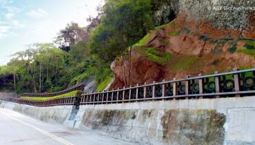 Réhabilitation de pente, route 47, Taichung, Taiwan