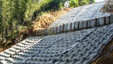 Projet ACEFormer™ de glissement de terrain dans les collines, Taoyuan, Taiwan