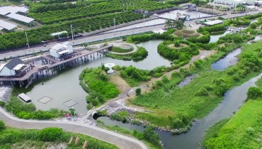 Le cas de la réutilisation d'étangs à poissons inutilisés en un parc de démonstration de réseau intelligent, Pingtung, Taiwan