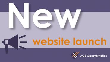Le Nouveau Site Officiel d'ACE Geosynthetics est Maintenant En Ligne