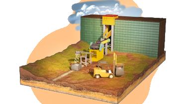 Soutien aux strates de mines à longue durée