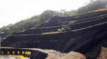 Widely used in erosion control, slope stabilization and road construction