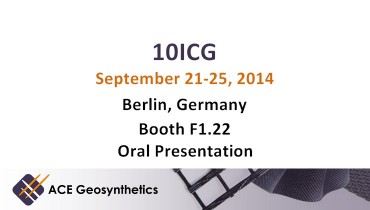 Meet ACE Geosynthetics in Berlin - 10th ICG