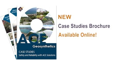 ACE Geosynthetics launches NEW Case Studies brochure