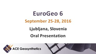 ACE Geosynthetics presents hydraulic application at EuroGeo 6, Slovenia