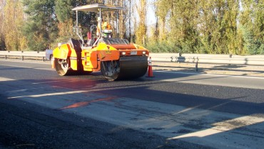 Asphalt Pavement Rehabilitation, Chile