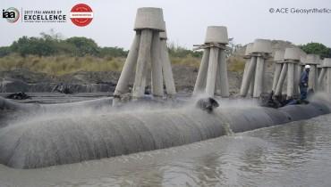 Riverbank Erosion Control, Zhuoshui River, Changhua, Taiwan