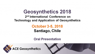 Meet ACE Geosynthetics at Geosynthetics 2018 in Chile!