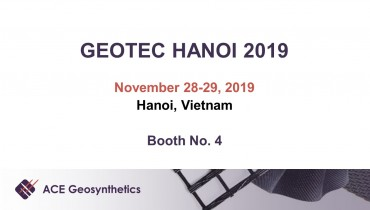 Visit ACE Geosynthetics at GEOTEC HANOI 2019 in Vietnam!