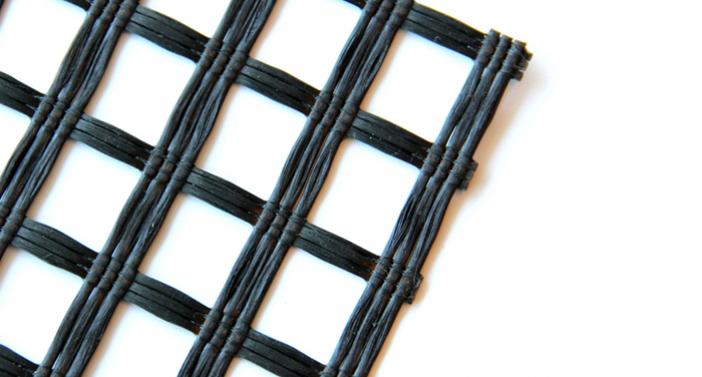 ACEGrid® GA- Fiberglass geogrids with bitumen coating