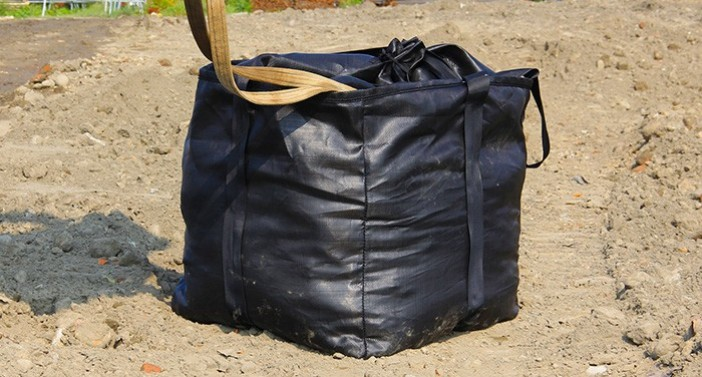 ACEBag™- PP Woven geotextile sand bags with high grade fabric, strong handler loop and robust sewing thread possess great loading capacity