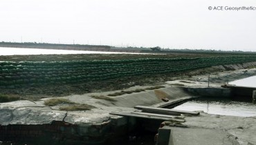 Dike Renovation, Taijang National Park, Tainan, Taiwan