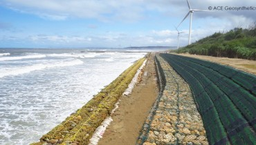 Coastal Protection,Xiangshan Wind Farm, Hsinchu, Taiwan