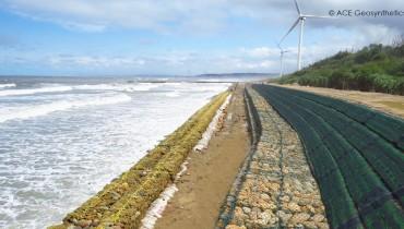 Coastal Protection,Xiangshan Wind Farm, Hsinchu, Taiwan