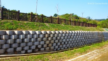 Slope Protection and Erosion Control on No.13 Public Cemetery, Miaoli, Taiwan
