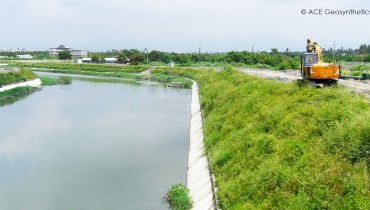 ACEGrid® Reinforced Slope for Revetment Project, Pingtung, Taiwan