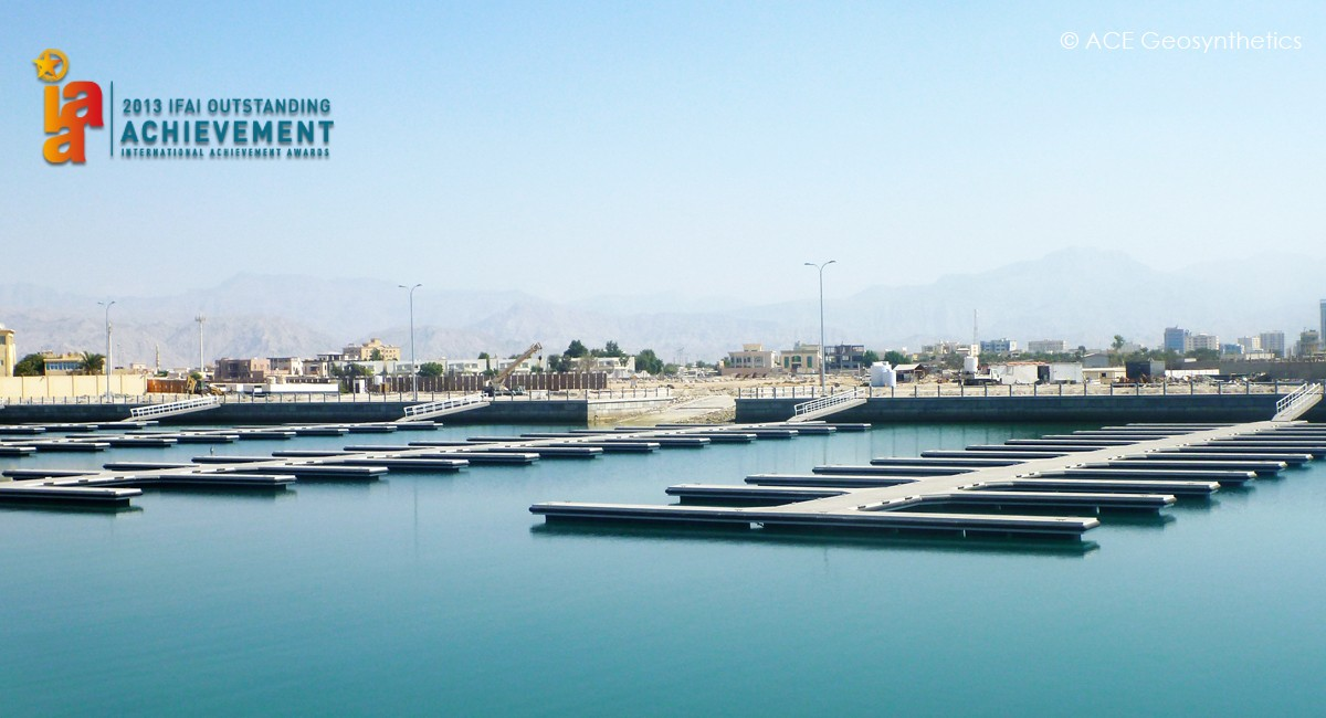 The Project of an L-Shaped, Sand-Containing Breakwater, Ras Al Khaimah, UAE