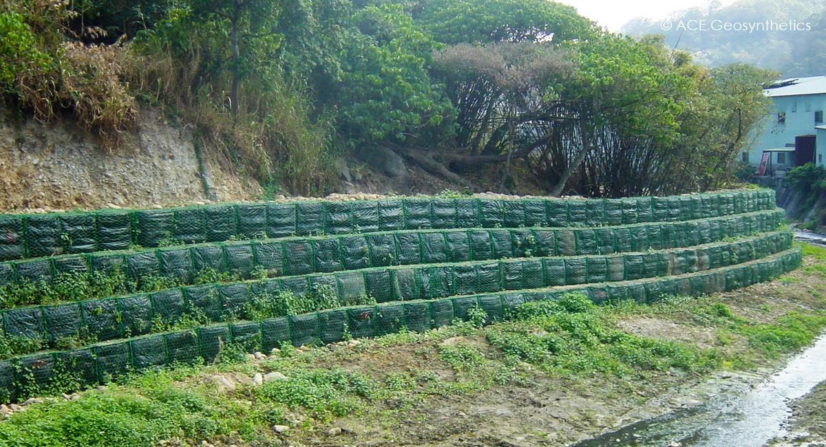 River Bank Protection, Kuanionkong Stream, New Taipei, Taiwan