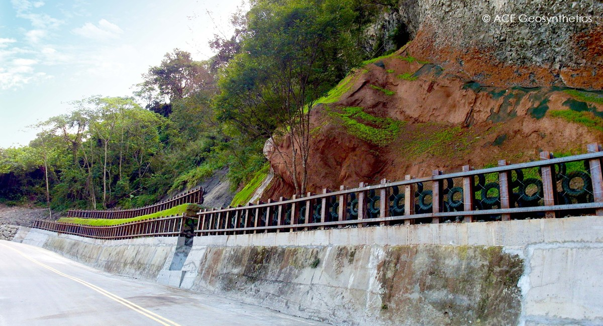 Slope Rehabilitation, Route 47, Taichung, Taiwan