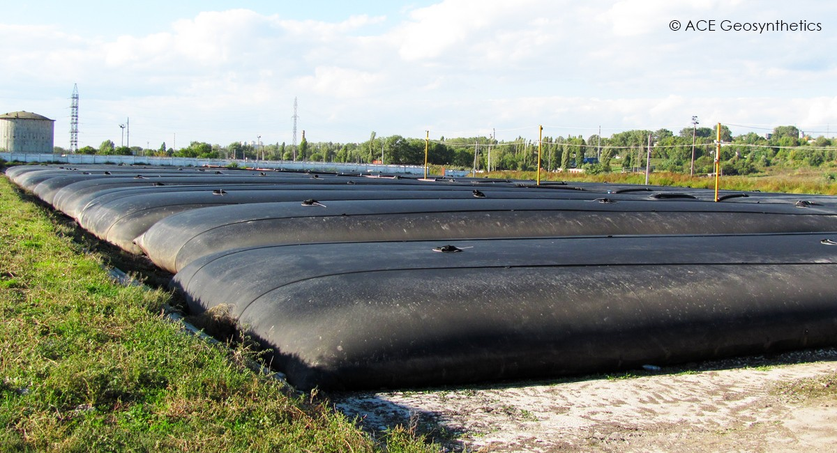 Municipal Sludge Dewatering by Using Geotextile Tube, Moldova