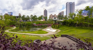 Công viên sinh thái cảnh quan Thung lũng Thu Hồng, Thành phố Đài Trung, Đài Loan